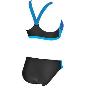 arena Ren Two Pieces Swimsuit Damen black-pix blue-turquoise